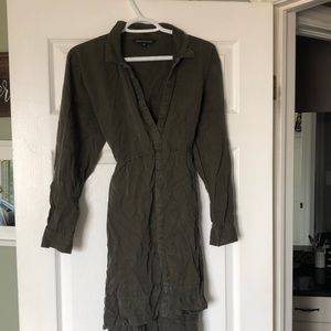 🛍3 for $20🛍 French Connection Army Green Dress